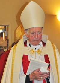 The Rt. Rev. James Hiles, Bishop Suffragan of the Diocese of the Northeast of the Anglican Church in America